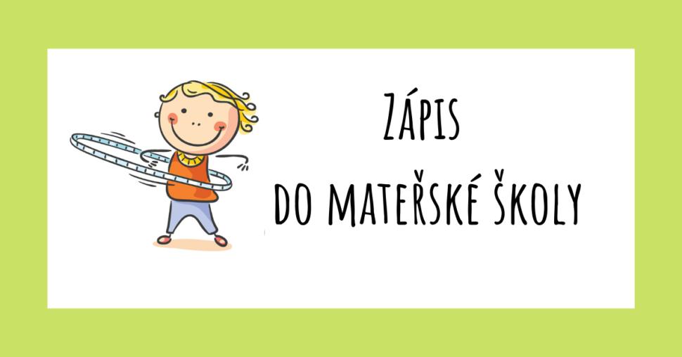 Zápis do mateřské školy | Předškolní poradna